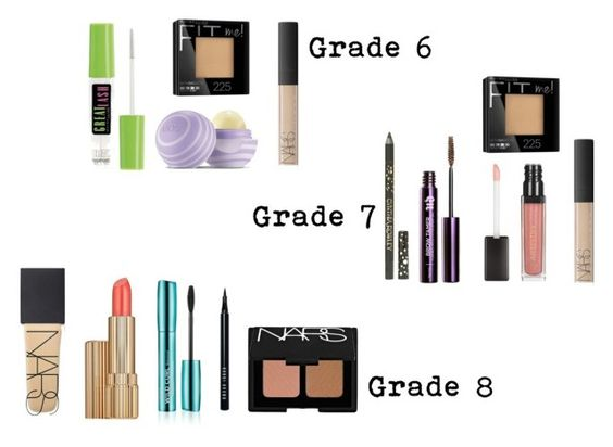 """""""Middle school makeup"""" by julia-mae-lauren on Polyvore featuring beauty, Maybelline, Eos, NARS Cosmetics, Urban Decay, Estée Lauder, Bobbi Brown Cosmetics and Cynthia Rowley"""