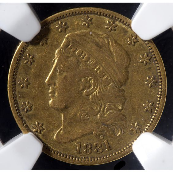 Rare 1831 Capped Head $2.50 Gold Coin Sold $3,100