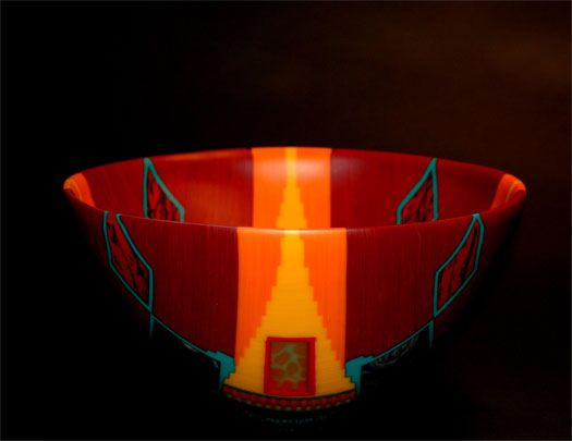 Doug Randall Red Temple Basket