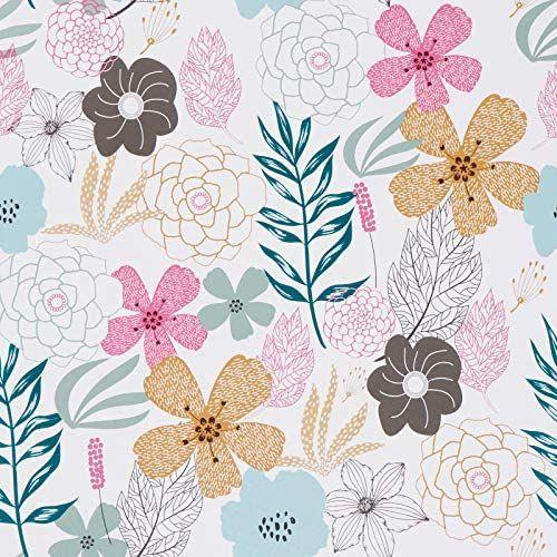 Pin On Nursery Ideas Floral peel and stick wallpaper amazon