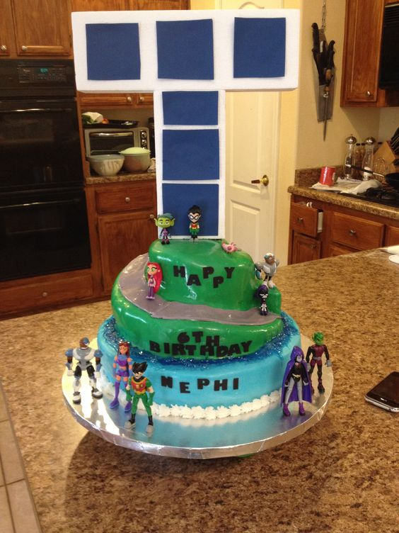 Teen Titans And Cakes On Pinterest