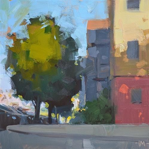 Daily Paintworks Wake Up City Original Fine Art For Sale C Carol Marine Original Fine Art Oil Painting Landscape Fine Art