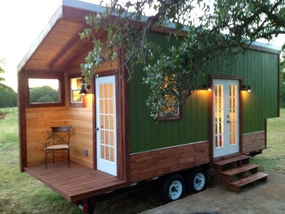 Modern and Rustic Tiny House For Sale in Austin Texas Photo