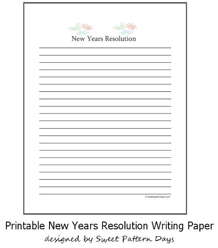 Prewriting Your New Year Resolution Essay