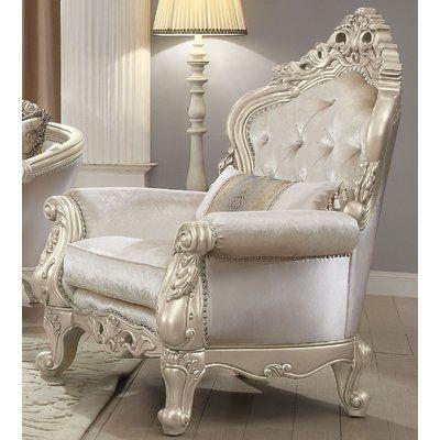 Rosdorf Park Pulaski Chair W Pillow Furniture Chair Sophisticated Living Rooms