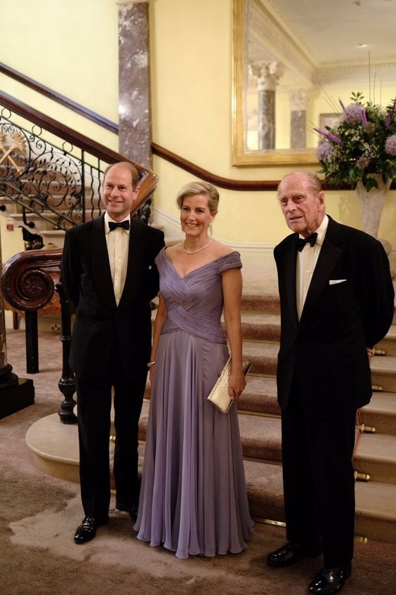 Count and countess of Wessex and Prince Philip 2016