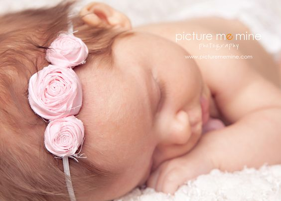 Image of single baby headbands {pick a color}