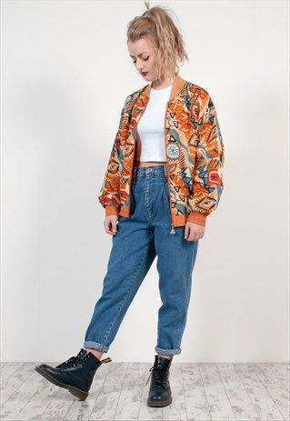Bomber jacket 90s – Novelties of modern fashion photo blog