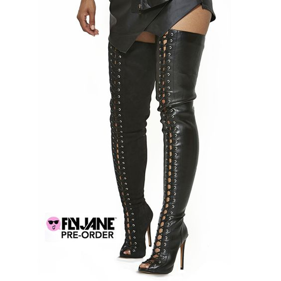 ZigiNY PIARRY THIGH HIGH BOOT - LEATHER (PRE-ORDER) | Shoetherapy ...