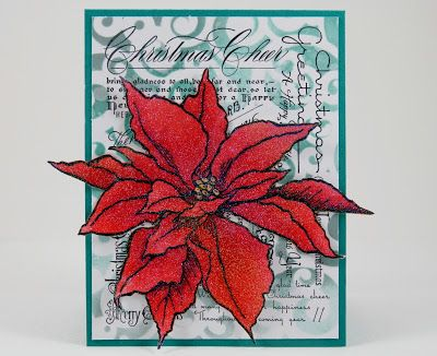 My Noteworthy Cards: A Very Sparkly Christmas - A gorgeous job of blinging in the Holidays by @Melinda Gleissner