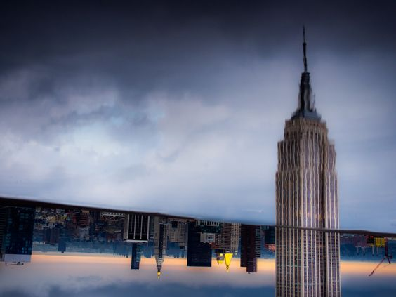 Empire State Reflections, New York [May 2014]