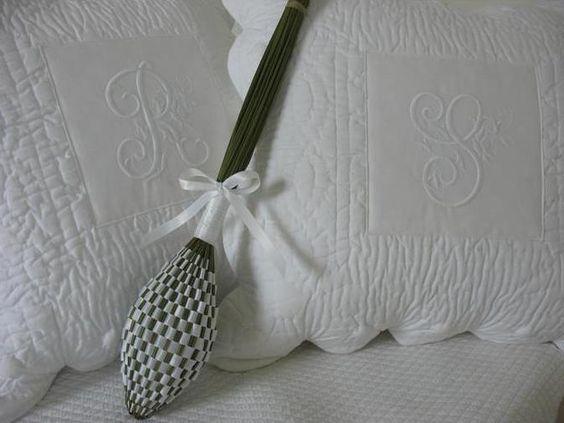 la pastorale pillow: embroidered pillows