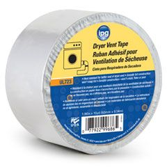 Dryer Vent Tape Cold Temperature Aluminum Foil Tape With Aggressive Long Lasting Acrylic Pressure Sensitive Adhesive Engineered And D Dryer Vent Tape Dryer