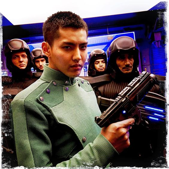 DAY 76 Kris Wu on his way to save the day!!!! #valerian  #kris Wu