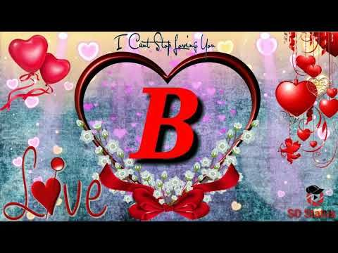 B Latter Love Status B I Love You Whatsapp Status B Love Status Youtube Quick Classic 350 Royal Enfield Peace Symbol Mobile wallpapers love name b