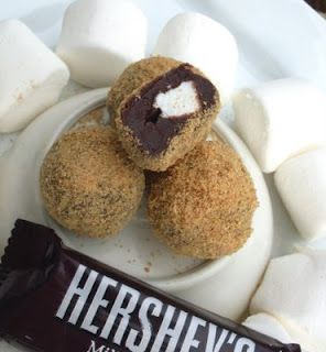 S'mores Truffles! What a wonderful thing: Candy Truffles, Truffles Sounds, S More, Sweet Treats, Smores Truffles, Smore S, Smore Truffles