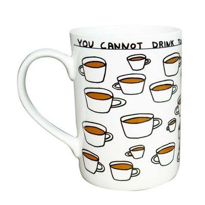 Coffee Mug by David Shrigley