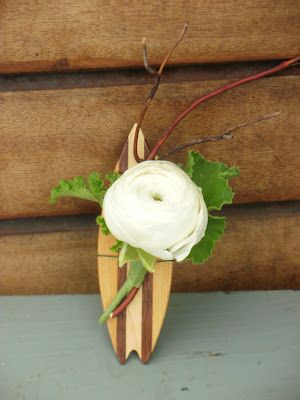 EP's  surfboard boutonniere