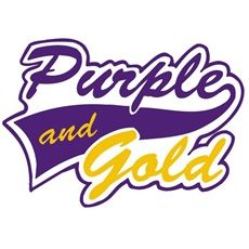 Purple and gold...Go South Plantation!
