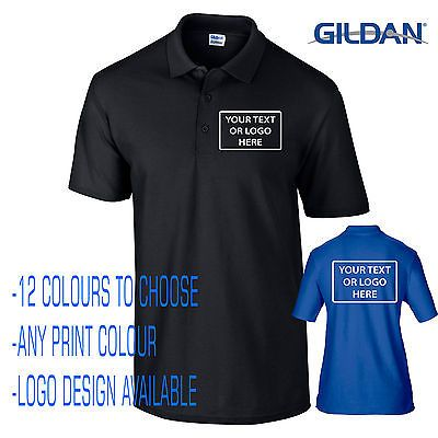 New #gilden custom #printed personalised work wear #company events polo t-shirts,  View more on the LINK: http://www.zeppy.io/product/gb/2/231885603816/