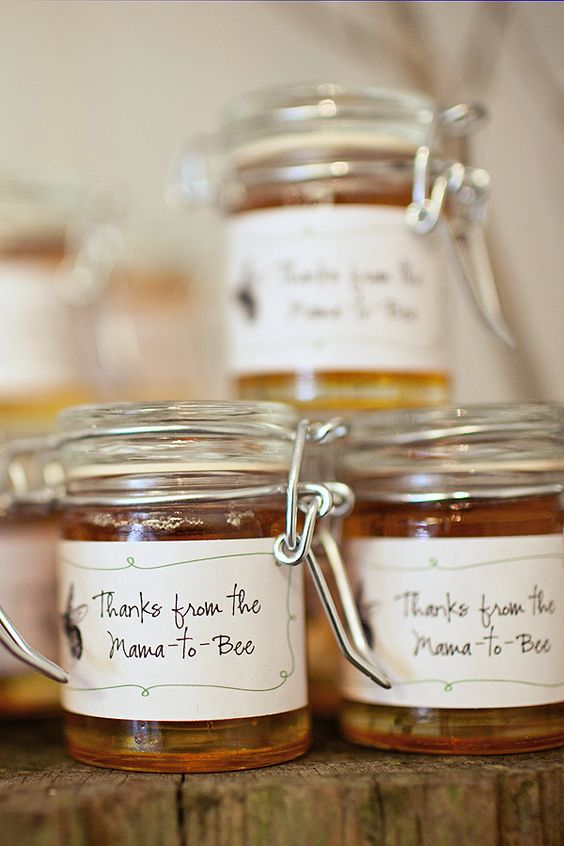 Honey Jars as Baby Shower favour | Honey Jars for Baby Shower Giveaways | Baby Shower Ideas | Baby Shower Favour Ideas | Party Favors * EOS Lipbalm party favors, Baby Shower, Bachelorette Party, Wedding Party Favors, Birthday Party Favors | Function Mania | 10 Newest Baby Shower Favor Ideas Your Guests Will Be Thrilled to Get!