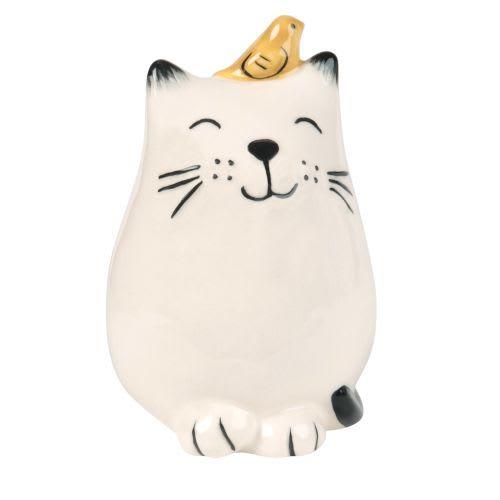 Katze Aus Weißem Dolomit H10 Peanuts Sala Da Pranzo Mobili Decorazioni Ombrellone