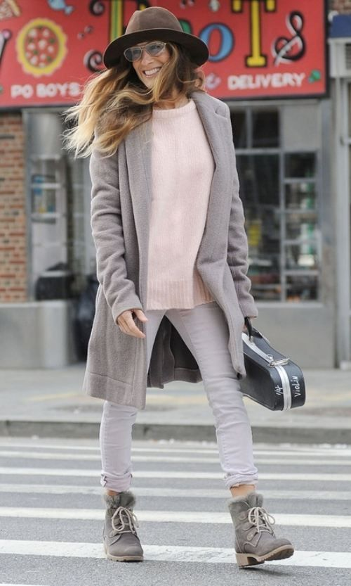 Hey you, I like your style: Sarah Jessica Parker                                                                                                                                                                                 More
