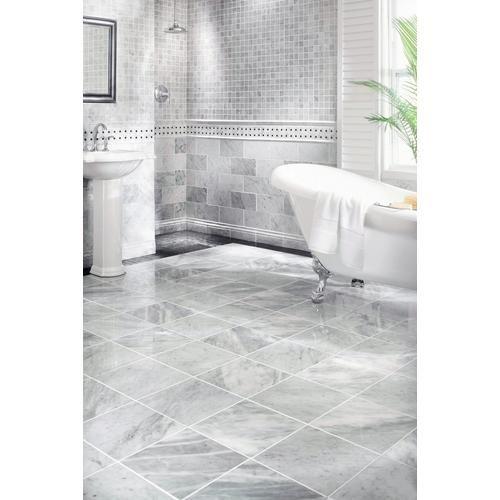 Bianco Carrara Marble Tile Floor Decor Bathrooms Remodel Interior Paint Colors For Living Room Bathroom Interior Design Floor and decor bathroom design