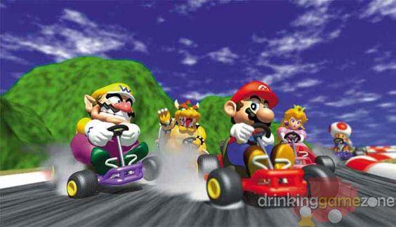 No Drinking and Driving - Mario Kart