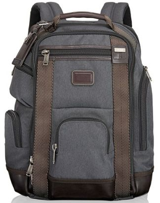 Tumi water resistant backpack