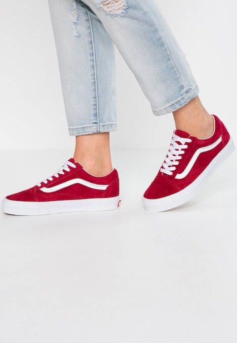 OLD SKOOL - Baskets basses - scooter/true white @ ZALANDO.FR ...