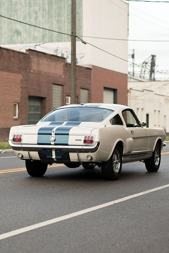 1966 Shelby GT350 with LeMans stripes option (#FTA)