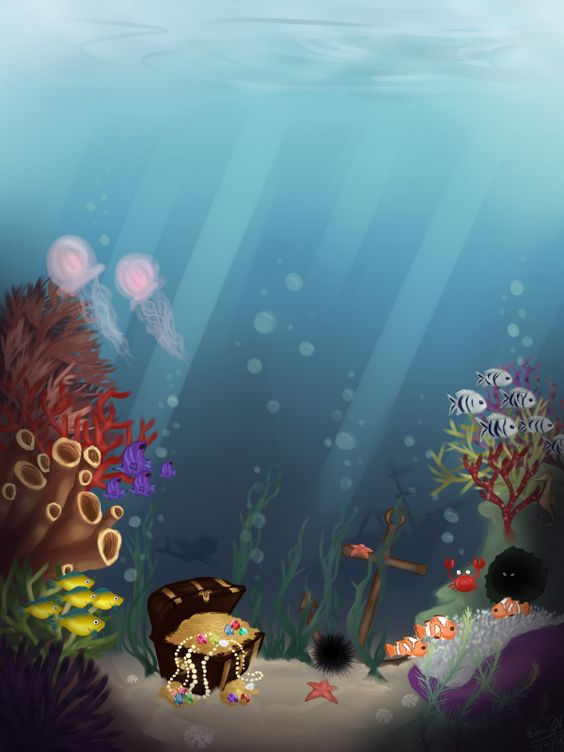 Under the seaaa~ by =Dowlie on deviantART
