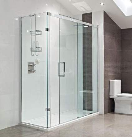 37 Ideas Under The Stairs Bathroom With Shower Glass Doors
