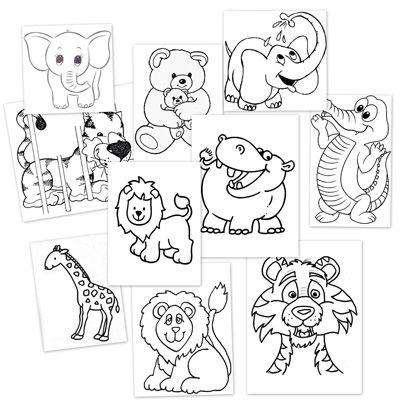 Animales de la selva para colorear  Animais  Pinterest ...