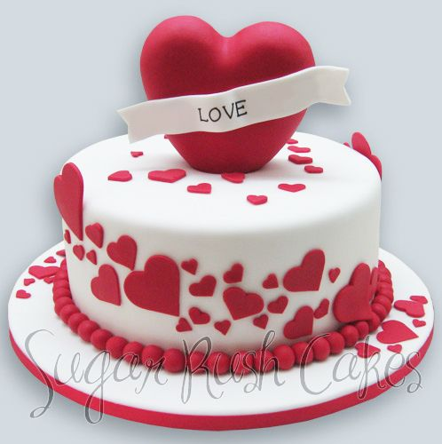 valentines day cake for eight | desserts - bring out the cake, Ideas