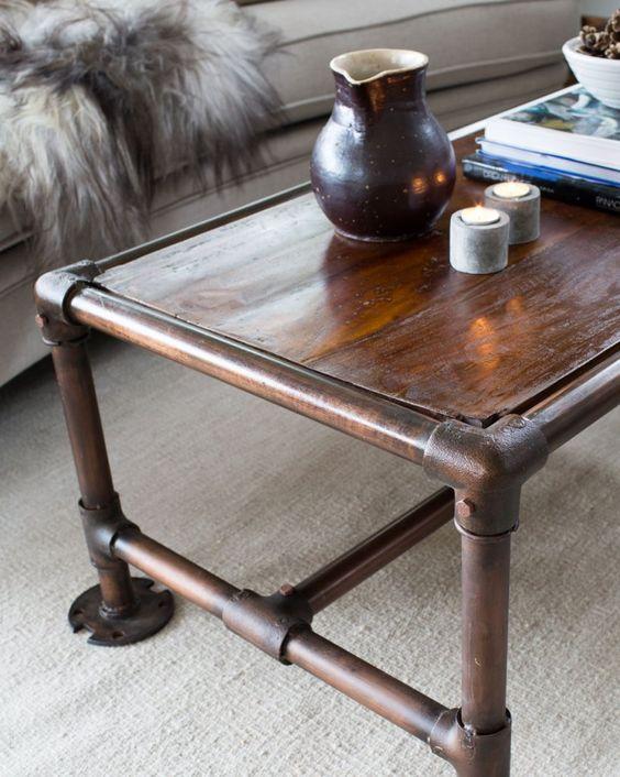 Soffbord soffbord metall : Soffbord med ram av metall | Inredning | Pinterest