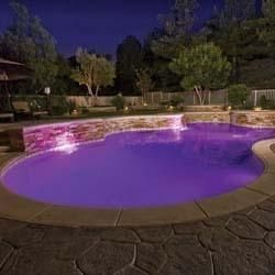 The Color Splash Lxg Is A Multi Color Led Pool Light That Transforms Any In Ground Pool Into An Underwater D Pool Light Led Pool Lighting Luxury Swimming Pools