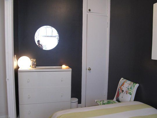 Baby Seal Black Paint Did The Master Bedroom In This