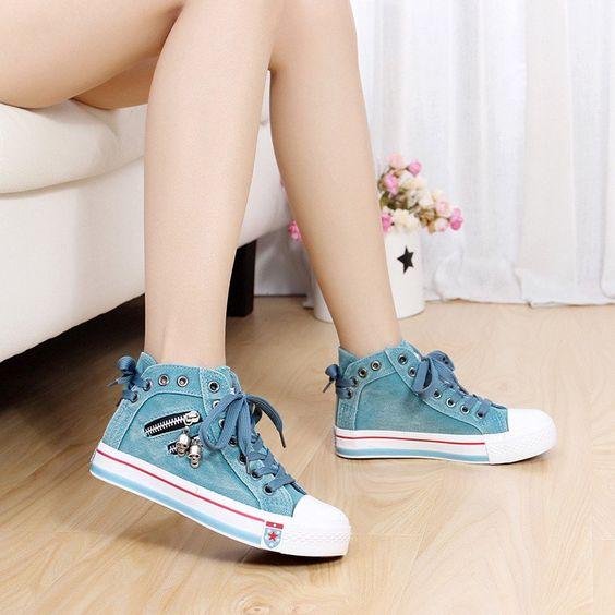 Students cowboy flat shoes  SE9574