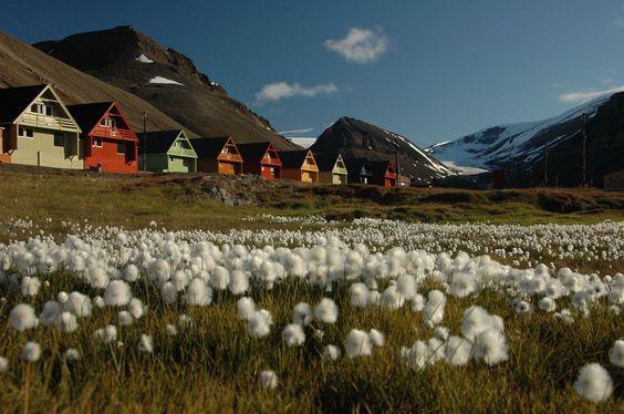 Longyearbyen, Norvège.   18 villes colorées qui vont vous donner envie de déménager