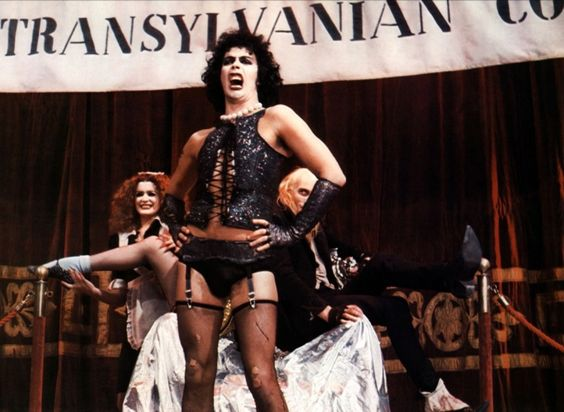 """Tim Curry in """"The Rocky Horror Picture Show"""" (Jim Sharman, 1975)"""
