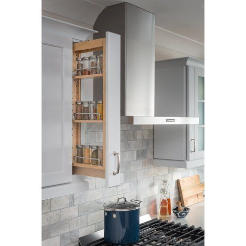 Hardware Resources 3 X 11 1 8 X 30 Inch Wall Cabinet Filler Pullout Wfpo330 In 2020 Face Frame Cabinets Cabinet Inspiration Home Remodeling