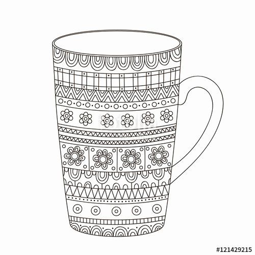 Coffee Cup Coloring Page Lovely Best 700 Adult Colouring Coffee