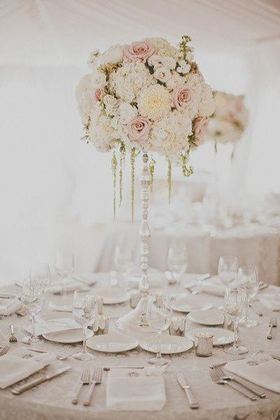 Es-tu une mariée princesse ou bohème ? Le centre de table ! 2