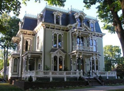 mansard second empire tribute victorian homes pinterest architecture style and house. Black Bedroom Furniture Sets. Home Design Ideas