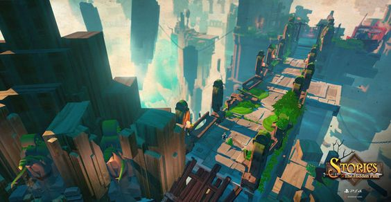 カートゥーン調の新作アクションRPG「Stories: The Hidden Path」がPlayStation 4向けに開発中 - Yahoo!ゲーム