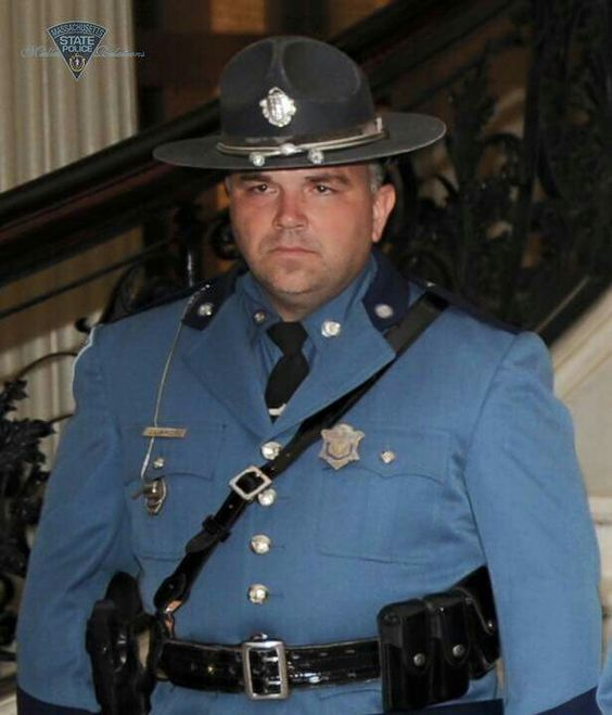 Trooper Thomas L Clardy killed by a driver crossing 3 lanes of traffic striking the Troops vehicle during a Crash Reduction Traffic Stop, Mar 16, 2016.