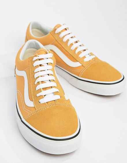 Vans Old Skool Sneakers In Yellow VA38G1QA0 | Vans old skool