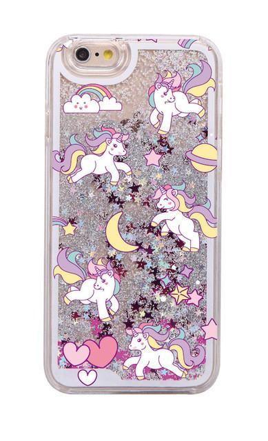 Glitter Unicorn iPhone 7 Case Magic
